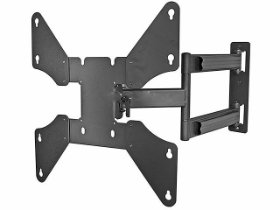 "Deluxe Cantilever Swiveling Corner Mount for 32"" - 46"" TVs"