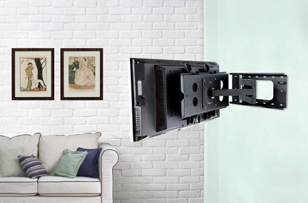 ... the Best Seat for Watching your Wall Mounted Plasma, LCD or LED  Television with Dual and Single-Arm Full-Motion Articulating-Swivel TV  Mount Brackets.