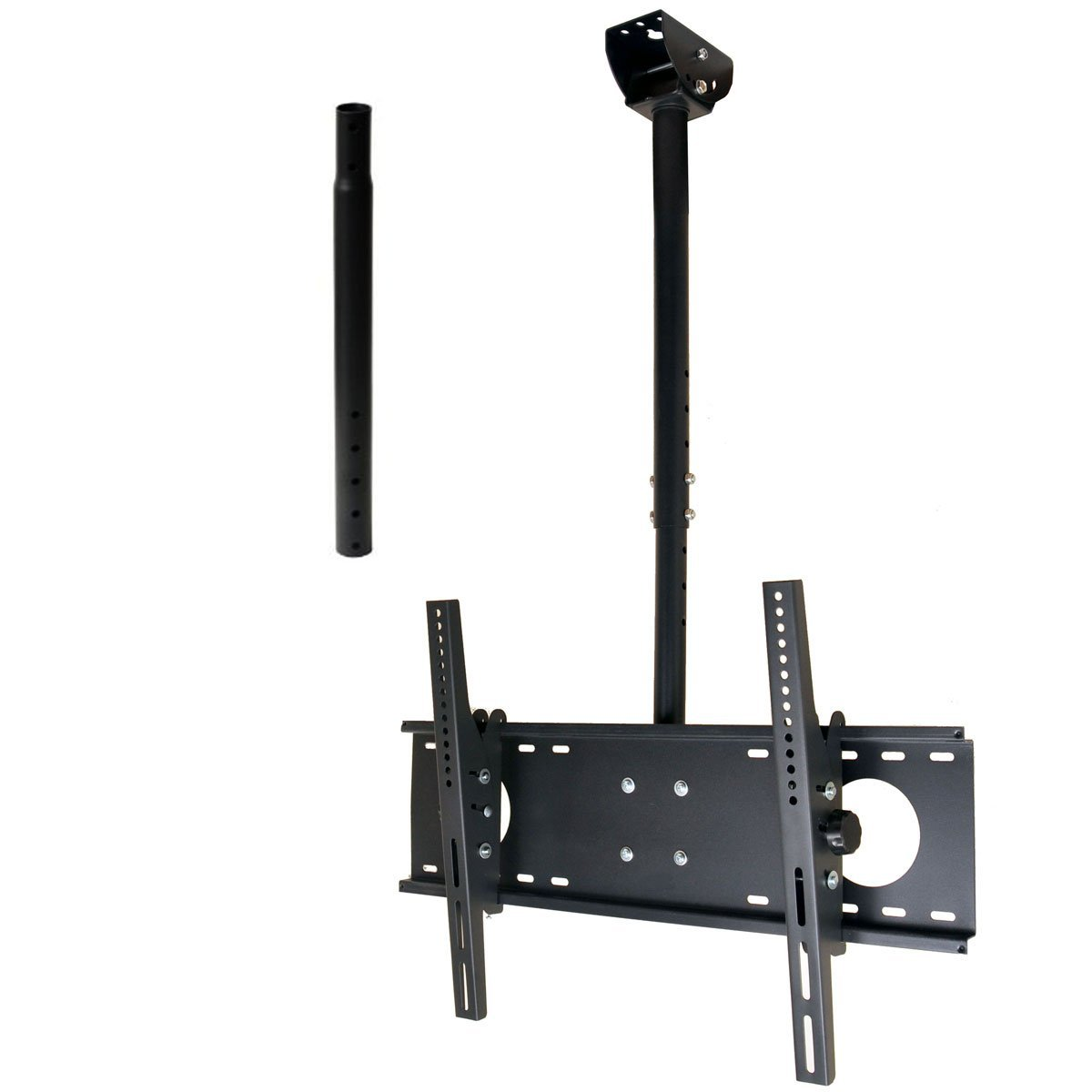 brackets to chr btech mount for pole mounts floor stand btftc chrome b ceiling up monitor tech wall products