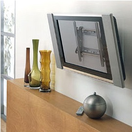 Display How Sleek and Cool your new Flat Panel LED, LCD or Plasma HD  Television  Tilting TV Wall Mount with Tilt n Stay Technology ...